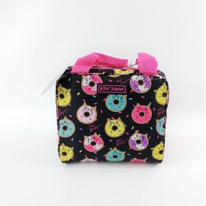 Betsey Johnson Cat Donut Insulated Lunch Tote